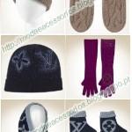 Gorros e Luvas Louis Vuitton