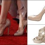 Tendências sapatos nude