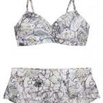 Nova coleção Sasha Pivovarova e GAP