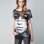 T-shirts Bershka Inverno 2012