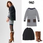 Modalfa Outono/Inverno 2013-2014 Look Navy – Moda de Saltos Altos