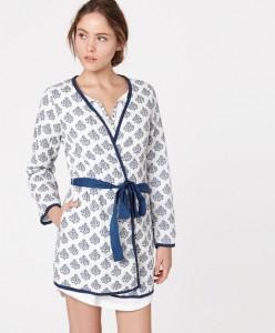 Robe carimbos - Oysho: 19,99€