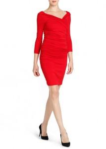Vestido ajustado drapeado - Mango Outlet: 17,99€