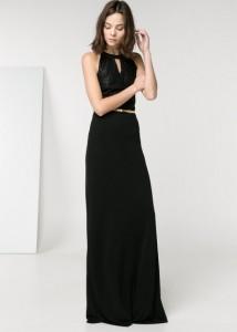 Vestido comprido lantejoulas - Mango Outlet: 49,99€