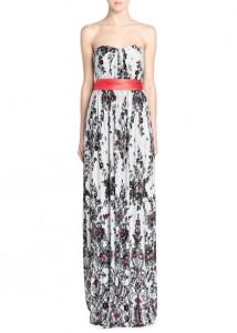 Vestido comprido estampado renda - Mango Outlet: 39,99€