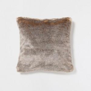 Almofada de pêlo cinzenta - Zara Home: de 3,99€ a 19,99€
