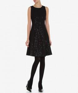 Vestido com aplicação de lantejoulas - Lanidor: 44,95€