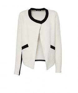 Casaco bicolor acolchoado com bolsos - Lanidor: 59,90€