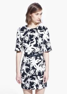 Vestido floral com cinto - Mango: 49,99€