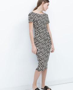 Vestido com decote nas costas - Zara: 25,95€