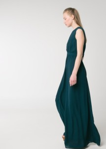 Vestido debruns com pormenores abertos - Mango Outlet: 31,99€ (79,99€)