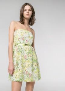 Vestido renda floral - Mango Outlet: 17,99€ (45,99€)