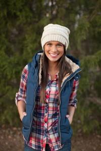 Um colete impermeável é a peça perfeita para te protegeres contra o frio num passeio ao ar livre!