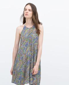 Túnica estampada - Zara: 39,95€