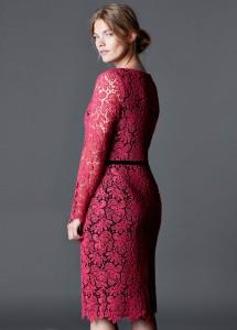 Vestido guipura - Violeta: 99,99€