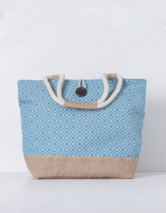 Shopper combinado juta - Blanco: 14,99€ (25,99€)