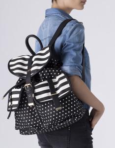Mochila estampada com bolsos - Blanco: 15,99€ (29,99€)