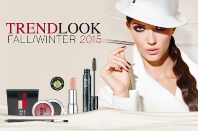 Um olhar parisiense com a Makeup Factory outono 2015